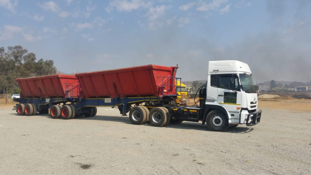 34 ton side tipper truck Pretoria