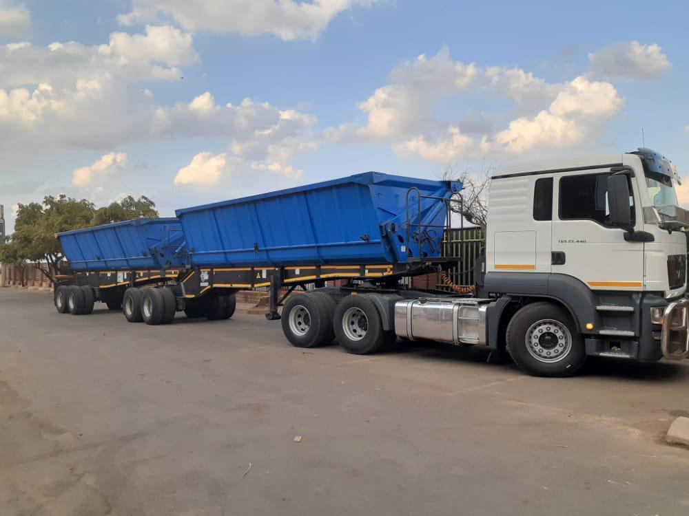 34 ton side tipper truck Mpumalanga