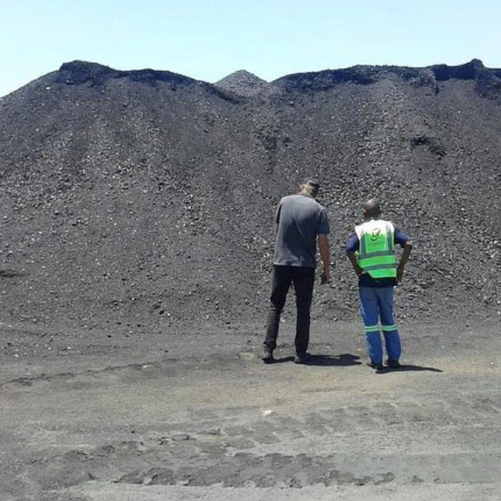 Coal transporting Johannesburg